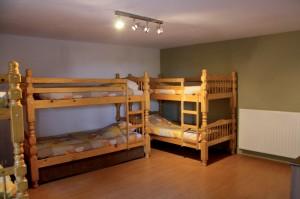 gîte de groupe chambre de 6 lits