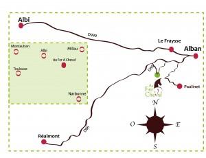 Au Fer A Cheval entre Toulouse et Montpellier