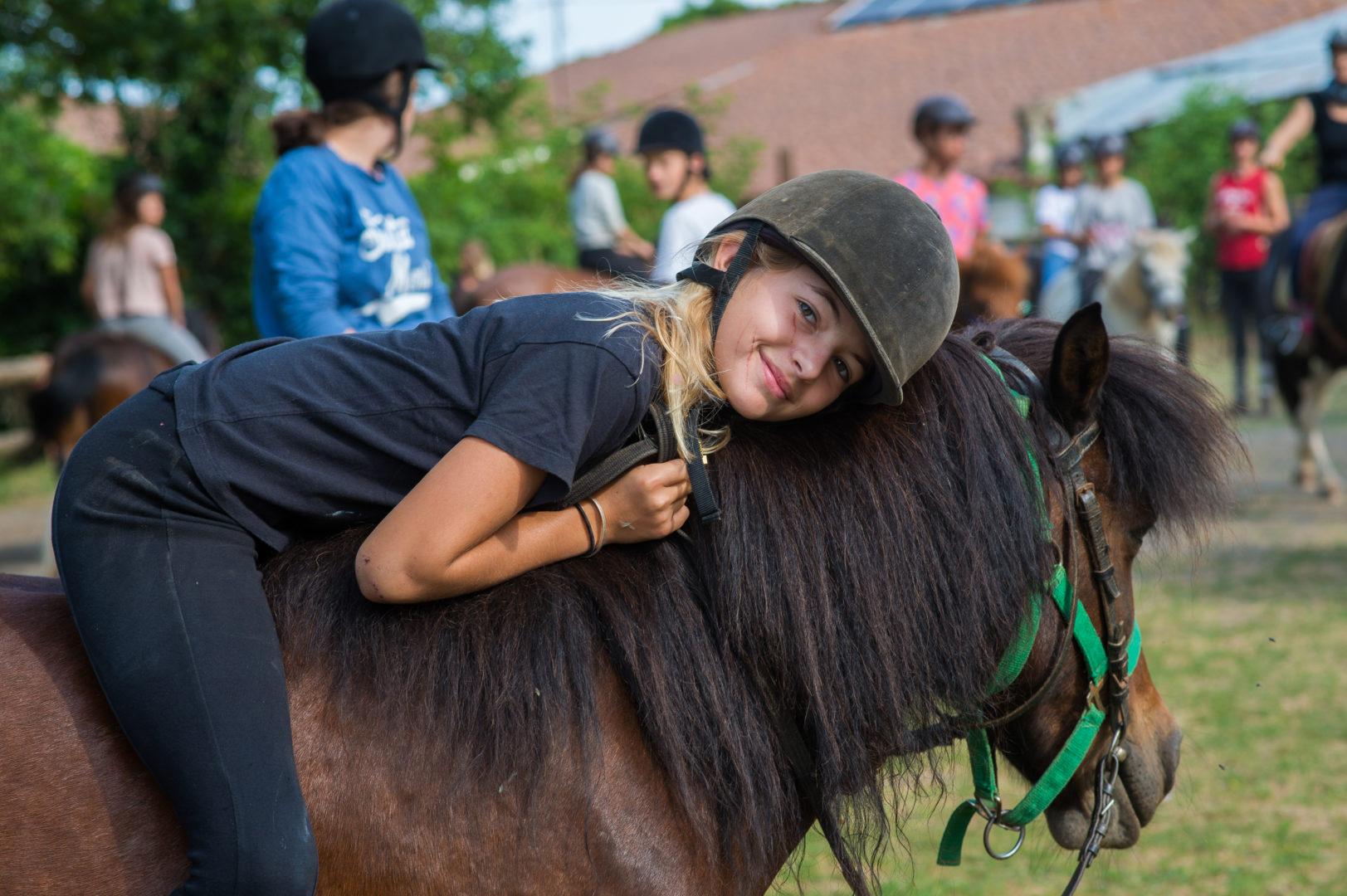 poney balade cheval ferme